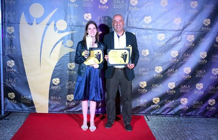 Francisca Ferreira e Pedro Lima homenageados pela Câmara da Trofa