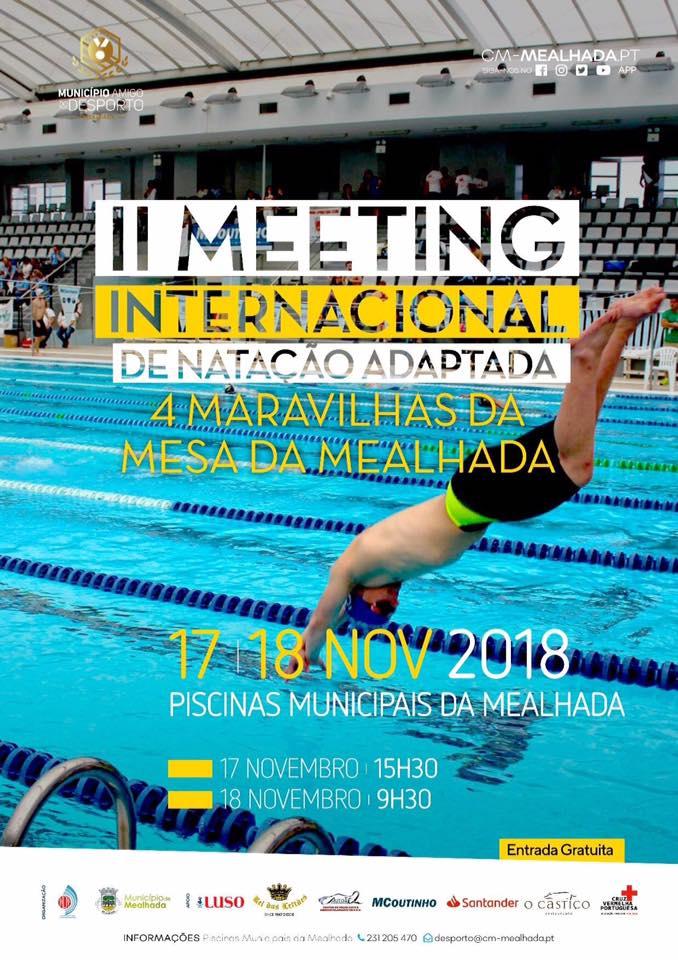 Galeria: II Meeting Internacional de Natação Adaptada da Mealhada – Novembro 2018
