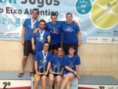 Jogos do Eixo Atlântico – 6 nadadores da ADADA ajudam a Seleção da Cidade do Porto a vencer o torneio de Natação Adaptada.