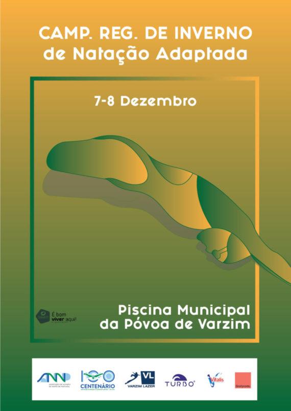 Campeonato Regional de Inverno – Natação Adaptada – Póvoa de Varzim, 7 e 8/12/2019