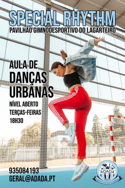 Danças Urbanas Inclusivas na ADADA Porto!