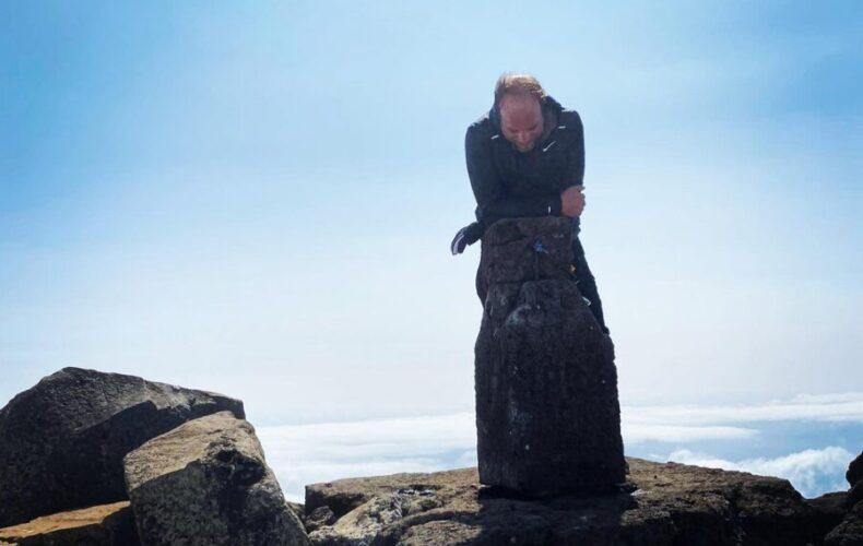 Renato Oliveira superou barreira física e subiu a montanha do Pico