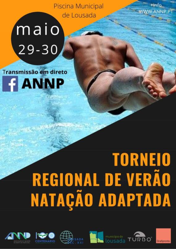 Torneio  Regional de Verão de Natação Adaptada 2021 – Lousada