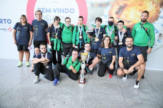 Equipa da Natação conquista 3º lugar nos EuroTrigames