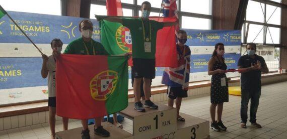 Francisco Montes Campeão da Europa!