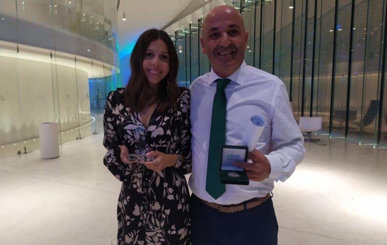 Renata Pinto e Pedro Lima distinguidos na Gala do Centenário da ANNP
